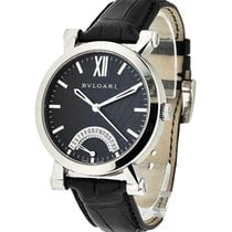 Bulgari 101706 SB42BSLDR SOTIRIO Series Retrograde Date in...