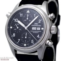 IWC Flieger-Doppelchronograph Rattrapant Ref-IW3713 950...