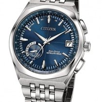 Citizen Satellite Wave World Time GPS Blue Dial Watch CC3020-57L