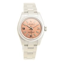 Rolex Lady Oyster Perpetual Stainless Steel Pink Automatic...