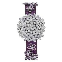 Van Cleef & Arpels – Socrate 18k White Gold & Diamond Bracelet...