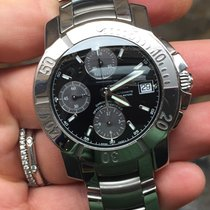 Baume & Mercier capeland chronograph chrono acciaio steel...