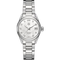 TAG Heuer Carrera Lady Calibre 9  Steel Watch ref . war2414.ba...