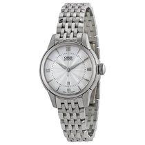 Oris Artelier Silver Dial Stainless Steel Ladies Watch