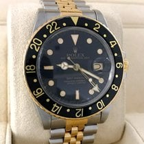 Rolex Oyster Perpetual GMT Master Jubilee Gold Steel 40 mm (1985)