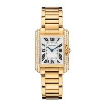 Cartier Tank Anglaise Quartz Ladies Watch Ref WT100005
