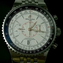 Breitling Montbrillant Legende 47mm White Dial Stainless Steel
