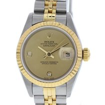 Rolex Oyster Perpetual Datejust 18K YG & SS 69173