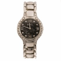 Ebel Beluga Diamond Hematite Dial Ladies Watch (Pre-Owned)