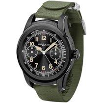 Montblanc Summit Smartwatch - Black Steel Case with Khaki...