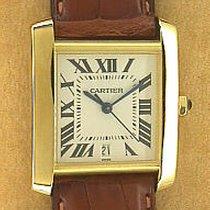 Cartier 's Hottest WatchesGent's 18K Yellow Gold...