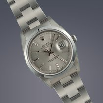 Rolex Date stainless steel Oyster Perpetual watch FULL SET