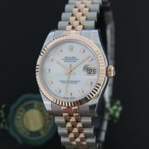Rolex Datejust Mother Of Pearl Diamond Dial NEW