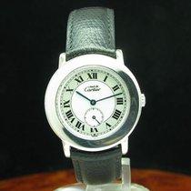 Cartier Must De Cartier Ronde 925 Silber Damenuhr / Ref 1815 1