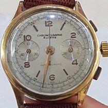 Chronographe Swiss Ultra Rare Vintage Oversize Chronographe...