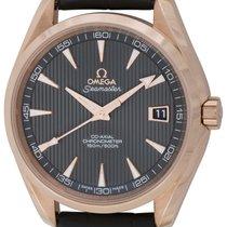 Omega : Seamaster Aqua Terra :  231.53.42.21.06.001 :  18k Red...
