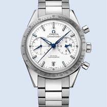 Omega Speedmaster 57 Chronograph 41,5 mm Titan weiß -NEU-