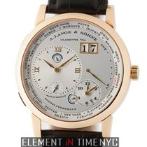 A. Lange &  Sohne Lange 1 Time Zone 18k Rose Gold 42mm...