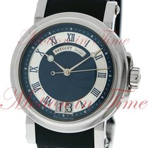 Breguet Marine Automatic Big Date, Blue Dial - Stainless Steel...