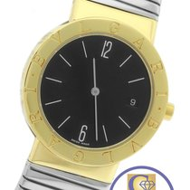 Bulgari Tubogas 18K Two Tone Gold Stainless Quartz BB33GSCD Watch