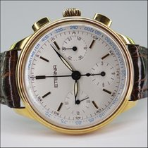 "Eterna Chronograph 18kt  ""Les Historiques"" Handaufzug..."