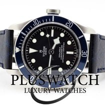 Tudor Heritage Black Bay Matt Blue Disc Leather Strap 3313