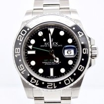 Rolex GMT Master II 116710 Box and Papers 2011 Black Ceramic
