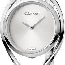 ck Calvin Klein LIGHT K6L2S116 Damenarmbanduhr Swiss Made