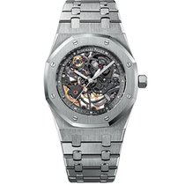 Audemars Piguet Royal Oak Selfwinding Skeleton Steel Watch