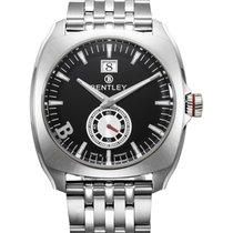 Bentley 'solstice' Swiss Quartz Watch Big Date 45mm Ss...