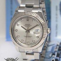 Rolex Datejust II Steel 18k White Gold & Diamond 41mm...