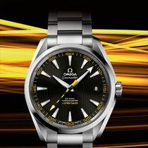 歐米茄 (Omega) [NEW] Seamaster Aqua Terra Black and Yellow Dial Mens