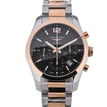 Longines Conquest Classic 41 Automatic Chronograph Dual Tone