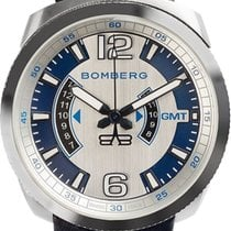 Bomberg Bolt-68 GMT Blue BS45GMTSS.002.3