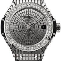 Hublot Steel Caviar Diamonds