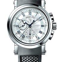 Breguet Brequet Marine 5827 18K White Gold Men's Watch