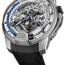 HYT Iceberg H2 Titanium and White Gold Blue