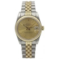 Rolex Midsize Rolex Datejust 68273 18K Yellow Gold &...