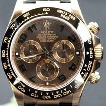 Rolex Daytona Pink Gold Choco Dial Ceramic, Full Set 40MM