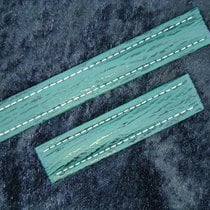 Breitling Haiarmband 18/18mm In Grün Green Verde Für Faltschli...
