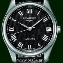 Longines Master Collection 42mm Automatic Date Black Dial...