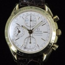 Omega Speedmaster Triple Date Chronograph Gold 18 kt Automatic