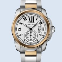 Cartier Calibre de Cartier Stahl Rotgold weiß -NEU-
