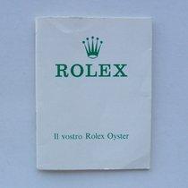 """Rolex Raro Libretto """"Il Vostro Rolex Oyster"""", anni..."""