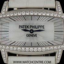 Πατέκ Φιλίπ (Patek Philippe) 18k W/G MOP Dial Diamond Bezel...