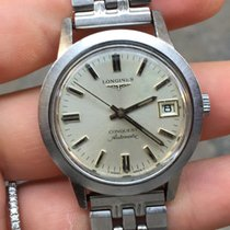 Longines Conquest automatic vintage plexy 35 mm
