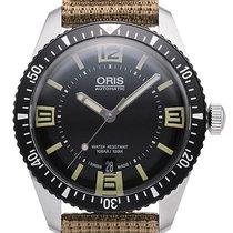 Oris Divers Sixty-Five 40mm mit Textil-Armband in braun