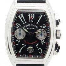 Franck Muller Conquistador 8005cc Chronograph Steel Watch