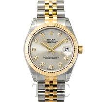 Rolex Datejust Lady 31 Silver/18k gold Dia 31mm - 178273 G