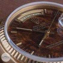 Rolex Day-Date 18038 Dark Wood Dial